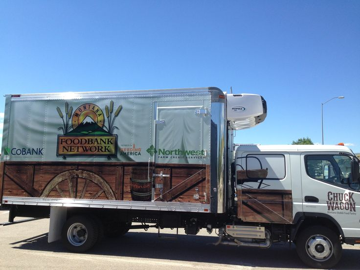 The Chuck Wagon - Montana Mobile Food Pantry #EndHungerMT #MobilePantry #MobileFood #ChuckWagon