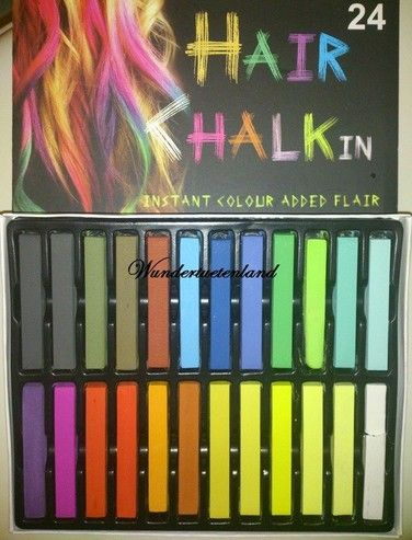 f rben mit haarkreide hair chalk der neuste frisuren trend aus den usa ist das sogenannte. Black Bedroom Furniture Sets. Home Design Ideas