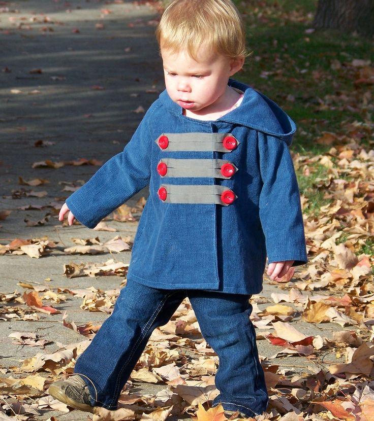 The Sidewalk Jacket PDF Sewing Pattern and Tutorial door OwlyBaby