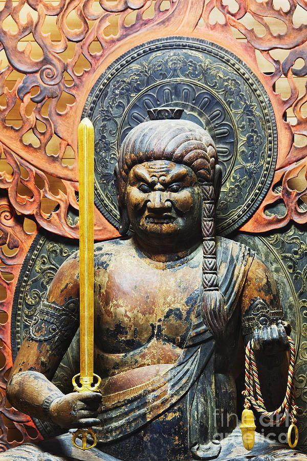 FUDO MYOO   Fudo Myoo Statue