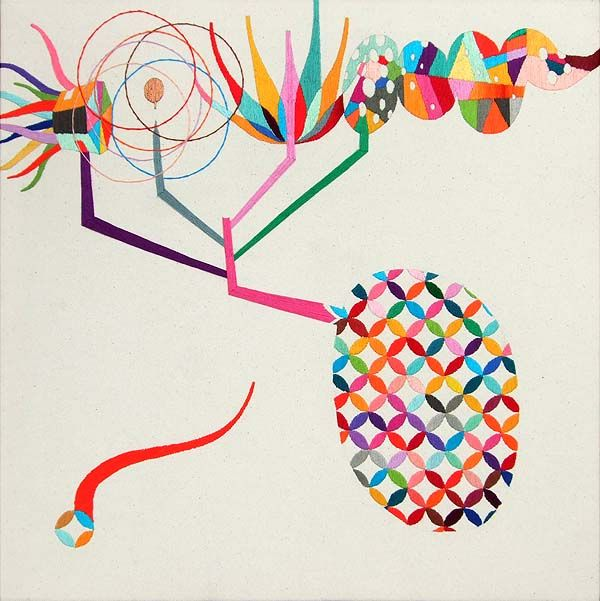 Embroidery by Takashi Iwasaki: