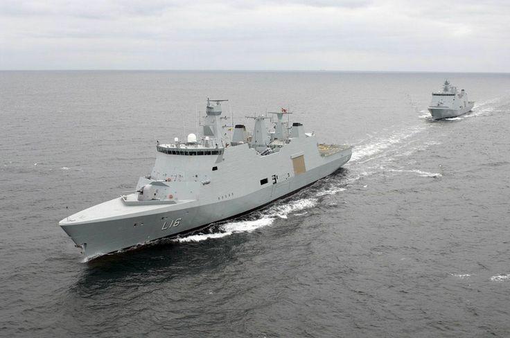Denmark - Absalon class flexible support ship