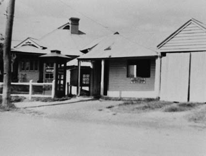 Wilberforce post office. 1950
