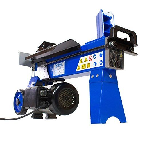 Hyundai HYLS4000H 1500 W 4 Tonne Horizontal Electric Log Splitter - Blue