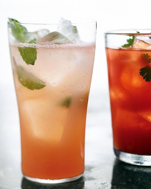 Summer Breeze Recipe -- a pleasantly pink cocktail of pineapple and grapefruit juice with gin.