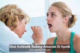 Obat Antibiotik Radang Amandel Di Apotik  Radang amandel atau yang lebih dikenal dengan tonsilitis adalah infeksi amandel yang menyebabkan peradangan. Kondisi ini yang paling umum pada anak-anak berusia 3 sampai 7 tahun, usia tersebut memiliki risiko radang amandel yang lebih besar daripada orang dewasa dan anak-anak yang lebih tua.  http://www.planetherbalku.com/2017/04/obat-antibiotik-radang-amandel-di-apotik.html