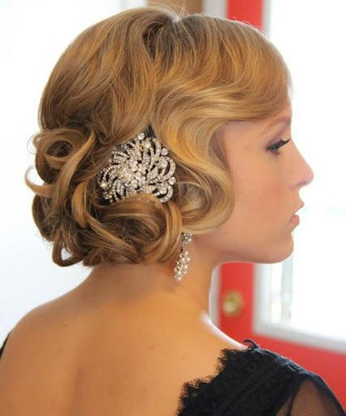 Best 25 Vintage Wedding Hairstyles Ideas On Pinterest: 17 Best Ideas About Vintage Prom Hair On Pinterest