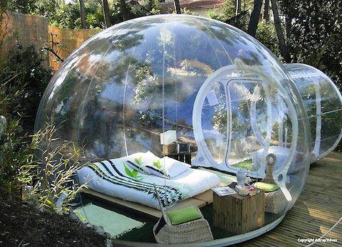 bubble hotel :-D