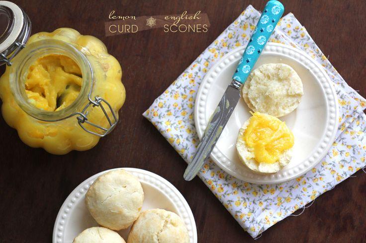 impalpables: una bien inglesa: scones y lemon curd