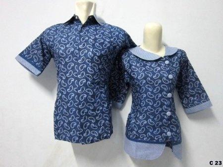 KODE C23 | IDR 115.000 | Bahan : katun prima, batik sablon kombinasi | Size M, L, XL | Hotline : 081333303545 | BB Pin 2128117C.
