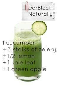 ♥の♥ ✪✪✪ Debloat juice ✪✪✪ Visit us at: healthyfoodqueen....