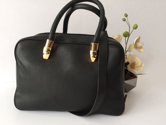 Black leather bag, Women leather briefcase, Leather laptop bag, iPad bag, Travel bag women, Leather notebook bag, Leather tote, Office bag