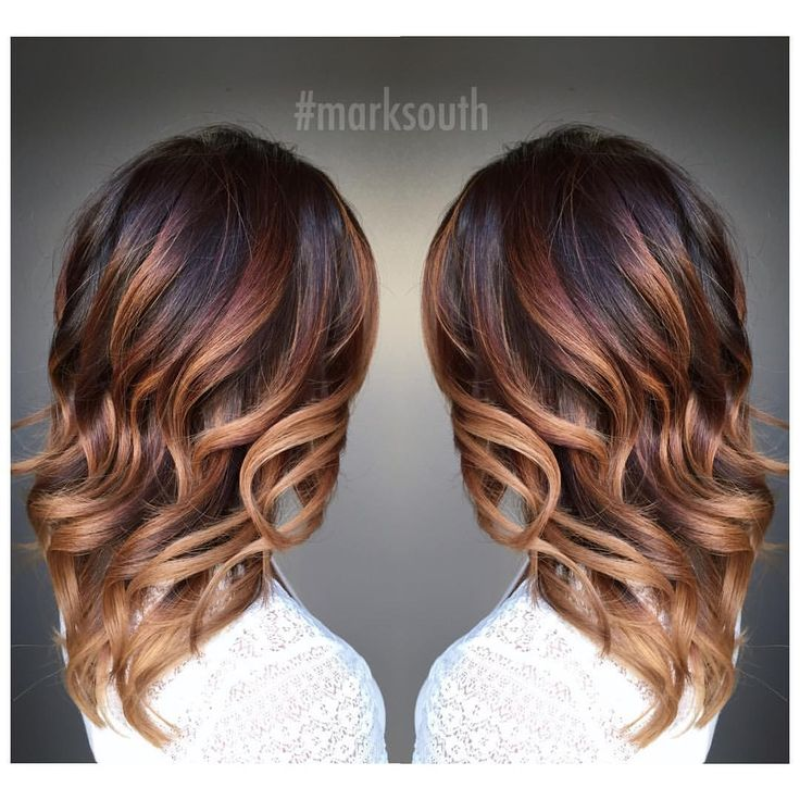 """M a r k S o u t h on Instagram: """"Warm blonde Balayage Ombre """""""