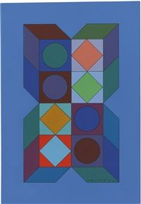 Victor Vasarely Auction Results - Victor Vasarely on artnet