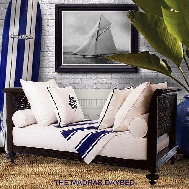 crafted from sustainable mahogany this british colonial inspired madras daybedu2026