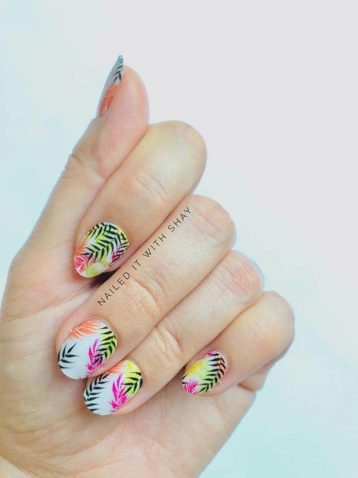 Color Street Frond Of You Palm Before The Storm Tough As Nails In 2020 Color Street Color Street Nails Pretty Manicures
