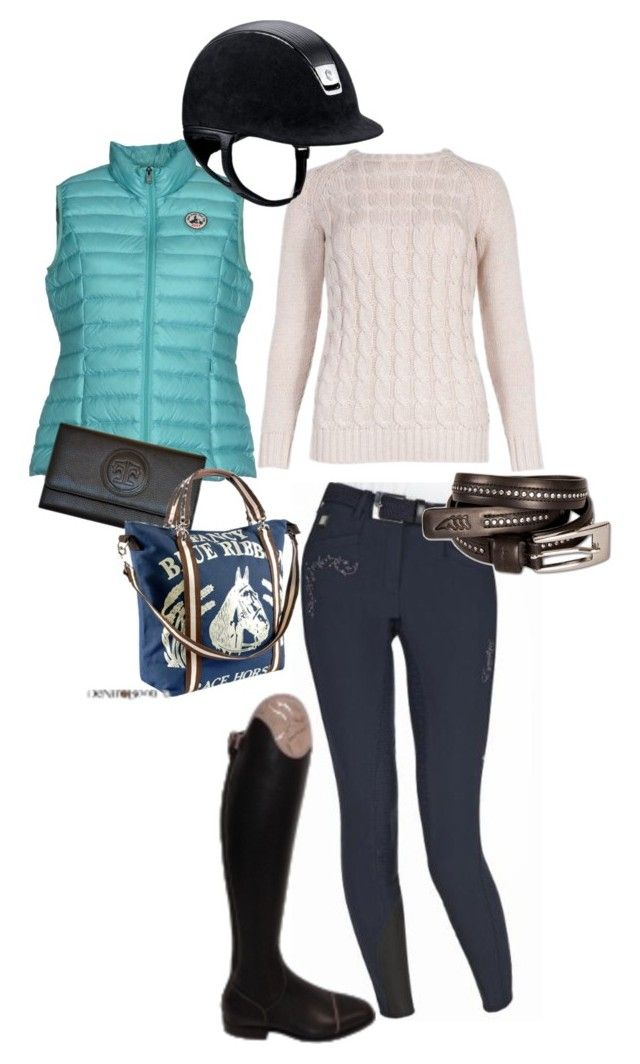 """Exceptional Equestrian Outfit"" by ivymyers ❤ liked on Polyvore featuring JOTT and Rebecca Ray Designs"