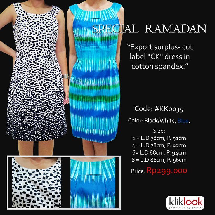 "Dress ""CK"" Code: #KK0035"
