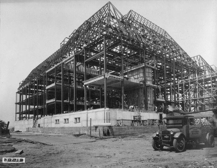 https://flic.kr/p/nXmqtt | Supreme Court under construction (2) 1938 | Ottawa ON