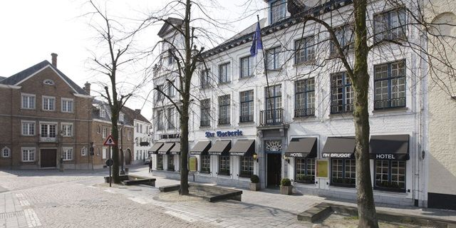 NH Hotel in Brugge, Belgium. This used to be a monastery.