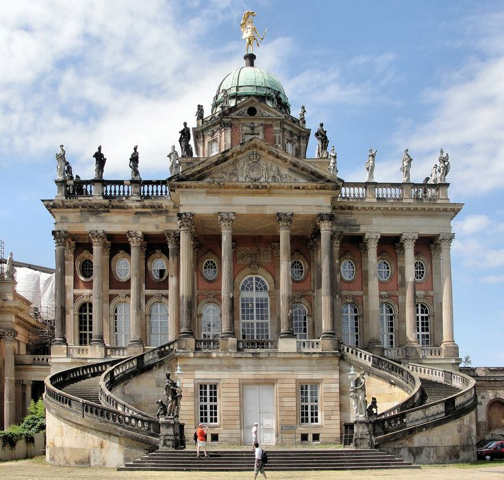 Frederick the Great's New Palace   Potsdam, Germany