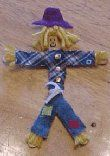 Wee Scarecrow Craft: Wee Scarecrow Craft
