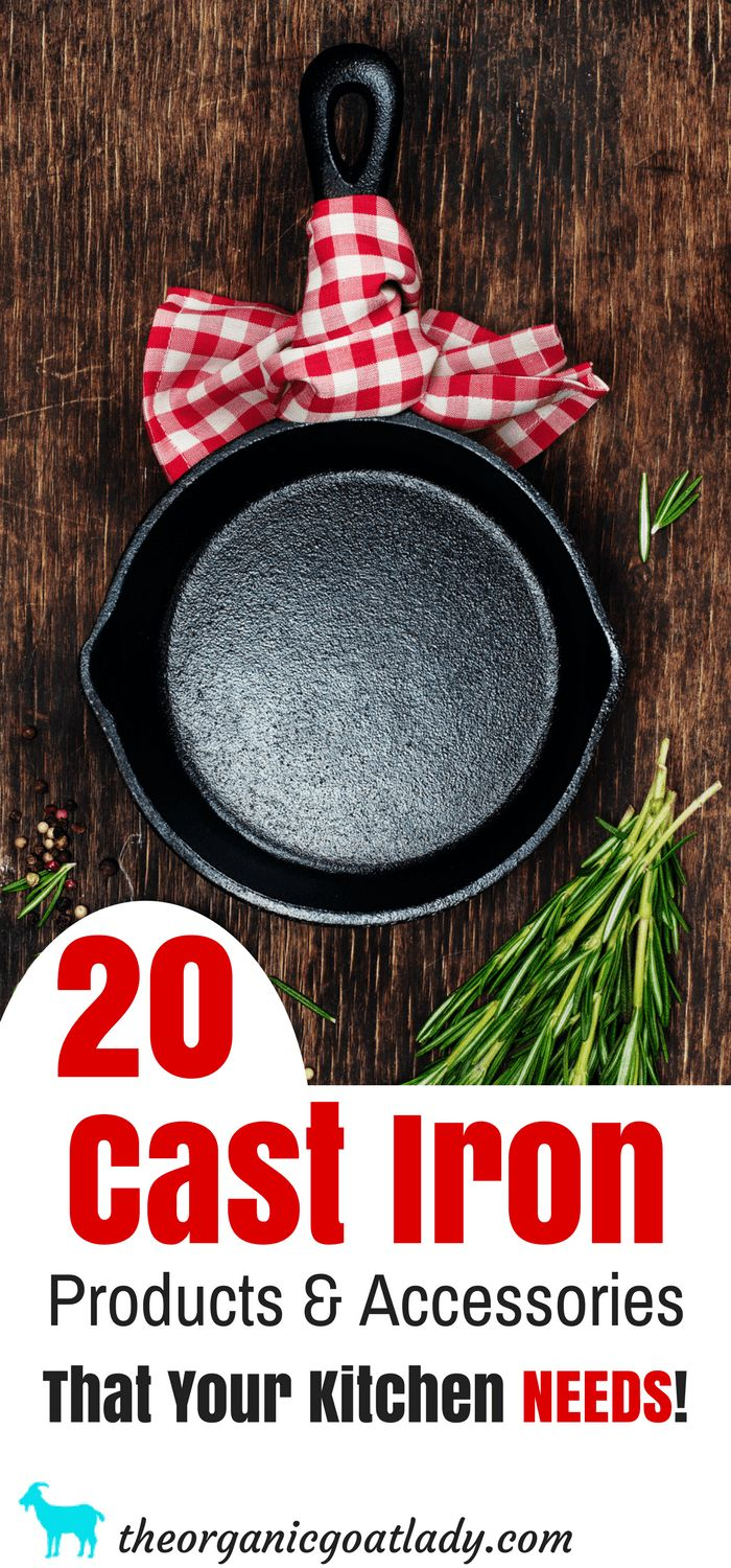 20 Cast Iron Products And Accessories That You NEED!