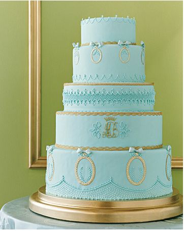 French regal cake