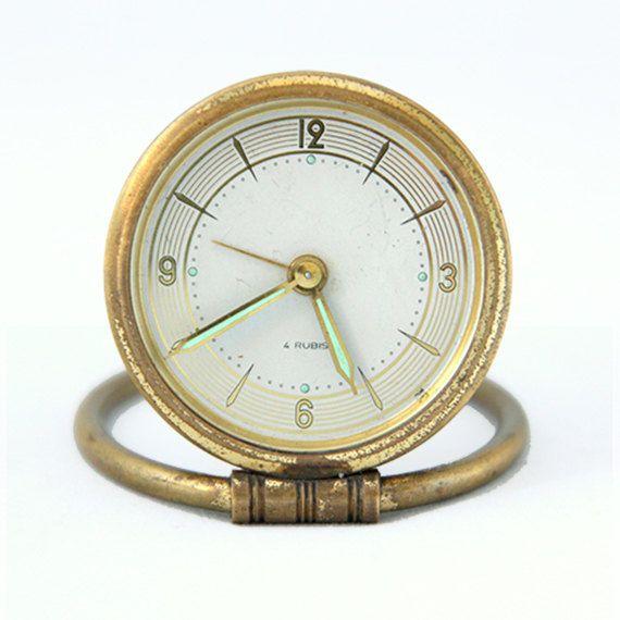 Gold Grandpa Clock