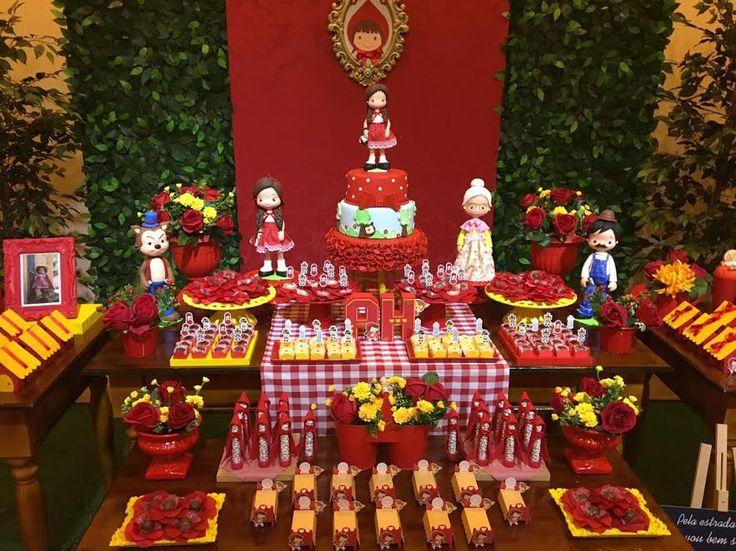 Decoração Chapeuzinho Vermelho – Blog Inspire sua Festa