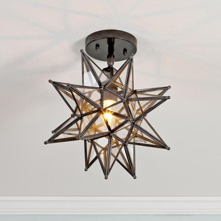 shades of light moravian star ceiling light closet. Black Bedroom Furniture Sets. Home Design Ideas