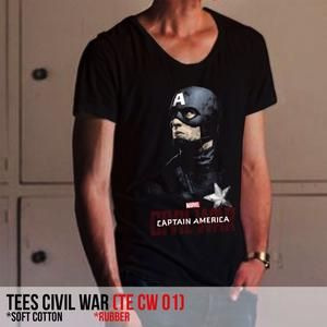 Kaos hitam Civil War (TE CW 01)