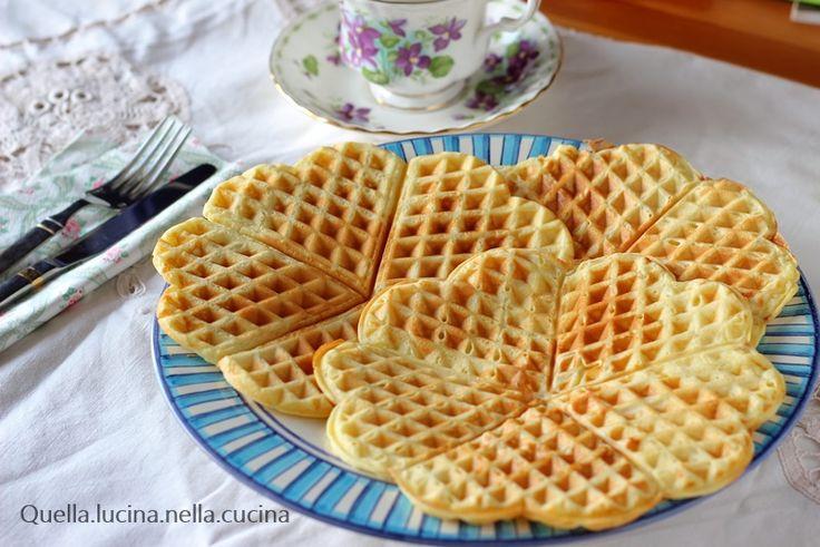 Waffel ricetta base dolce