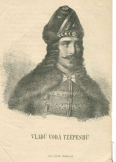 Vlad Tepes-aka Vlad the Impaler/Dracul. He impaled his defeated enemies in front of his castle.