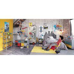 Plaque murale jaune 33 x 50 cm FREESTYLE