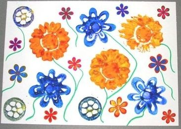 Summer Crafts for Kids Using Paint and Clay