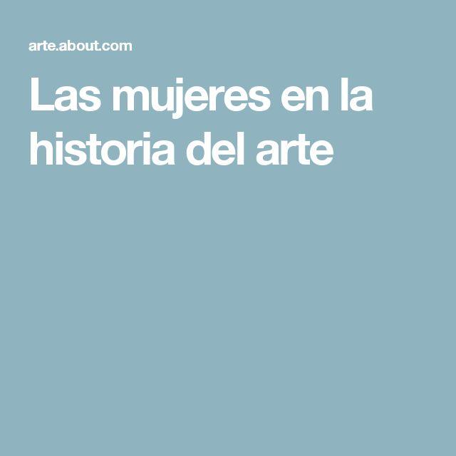 Las mujeres en la historia del arte