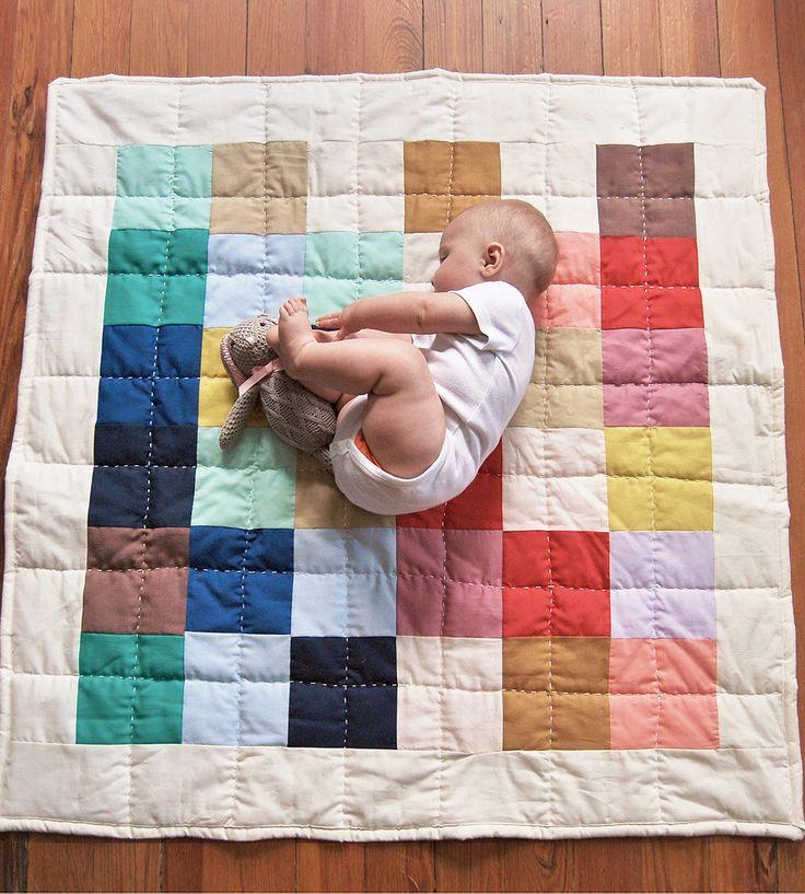 Agatha Handmade Patchwork Baby Quilt