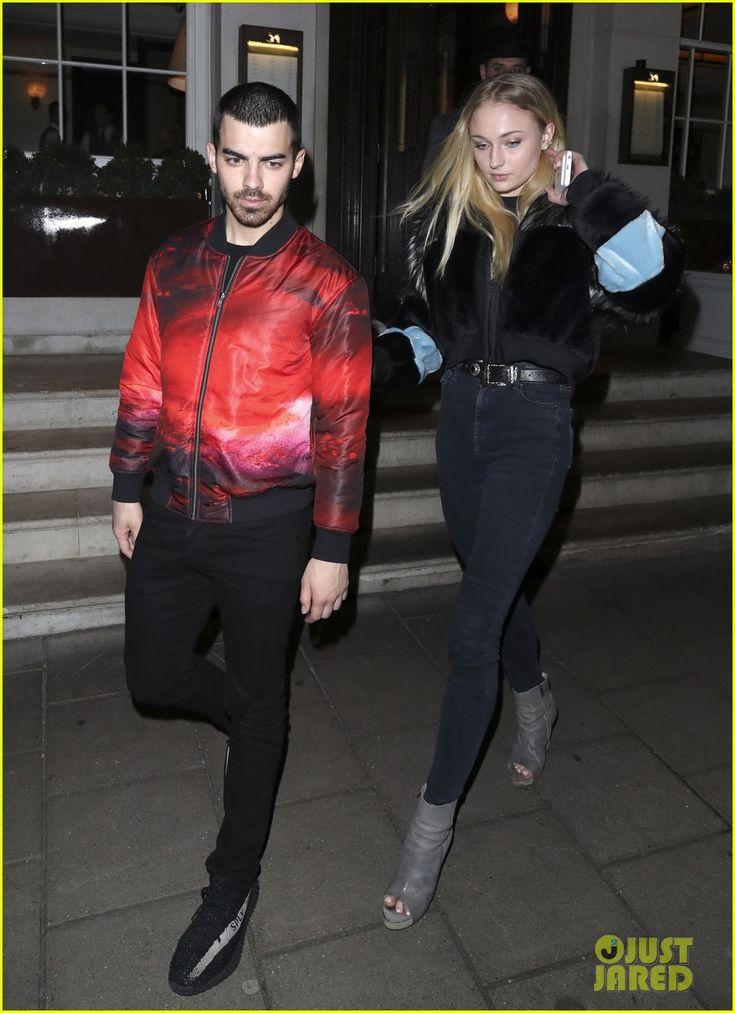Joe Jonas & Sophie Turner Step Out for Date Night in London!