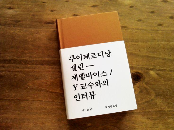 제멜바이스 / Y 교수와의 인터뷰 - 제안들 13
