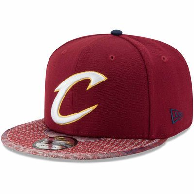 Cleveland Cavaliers New Era Grade Fly 9FIFTY Snapback Adjustable Hat - Wine