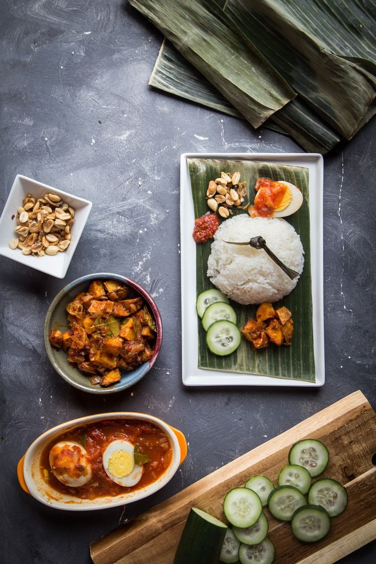 Nasi Lemak (Coconut Milk Rice)