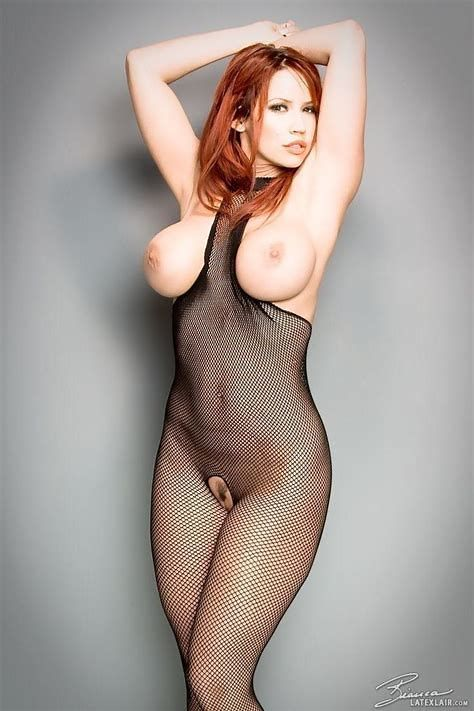 Not nude in full body fishnet think