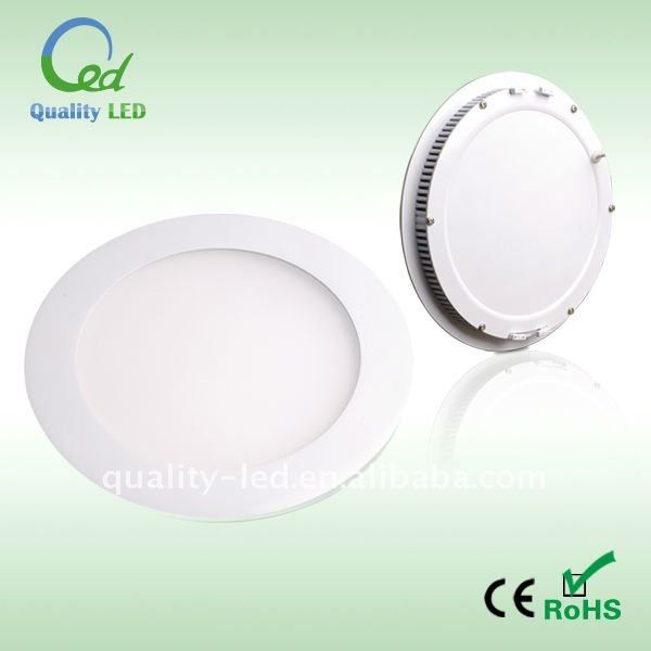 7W 14W Ultra-thin round recessed ceiling light $10~$30