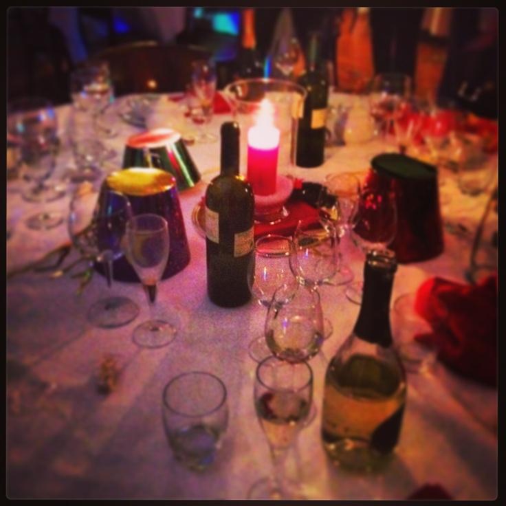 Midnight - new years eve, castelbrando italy.
