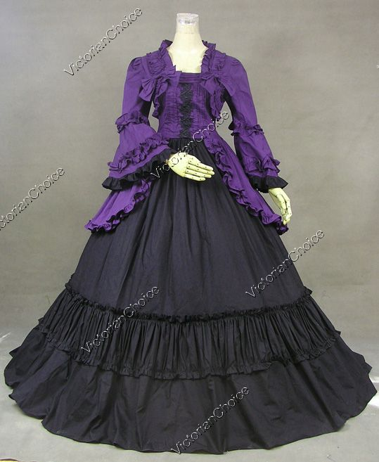 Vintage Purple Gothic Ball Gown Wedding Dresses With Cloak: 25+ Best Ideas About Victorian Ball Gowns On Pinterest