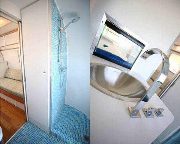 Comfort Airstream Trailer By Matthew Hofmann U003e Baukunst, Design Und So,  Fashion / Lifestyle. Airstream BathroomRv ...