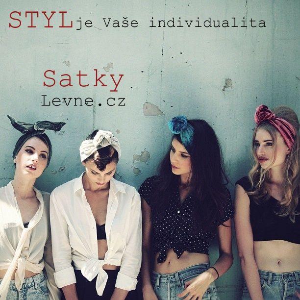 šátky do vlasů, nadcházející trend jaro/léto 2014  Buďte stylové s šátky do vlasů:)  http://www.satkylevne.cz/www/cz/shop/satky-do-vlasu/