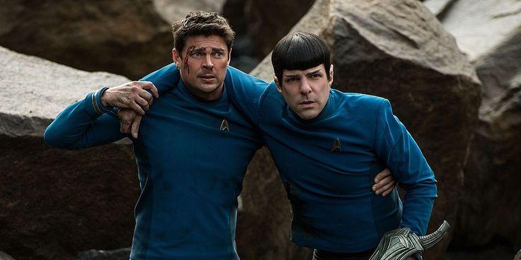 New Star Trek Beyond Clip Features Bones & Spock In Trouble