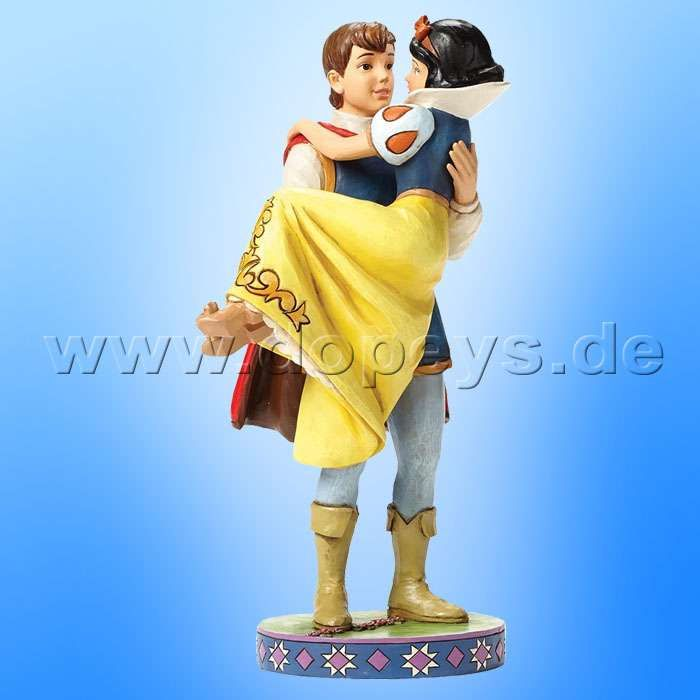 "Disney Traditions / Jim Shore Figur von Enesco.""Happily Ever After (Schneewittchen mit Prinz)"" 4049623."